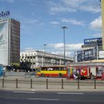 Современный центр Варшавы