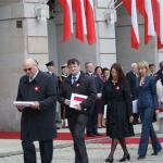 Вручение флага Республики Польша Дому Польскому