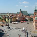 Замковая (Дворцовая) площадь в Варшаве