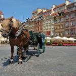 Рыночная площадь в Варшаве
