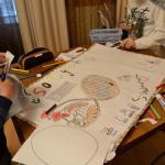 Дети украсили Дом Польский перед Пасхой