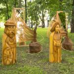Лех, Чех и Рус в Михайловском саду